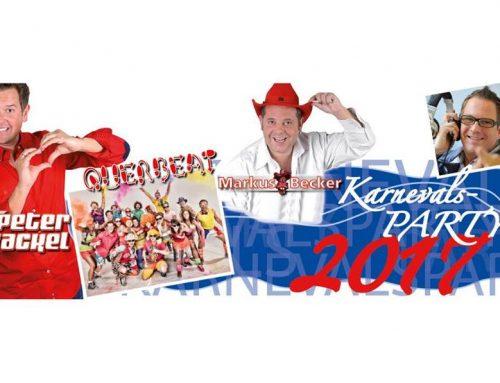 Karnevalsparty 2017 in der Stadthalle Troisdorf