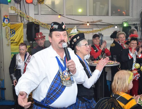 Karnevalserwachen beim KFZ-Meisterbetrieb Detlef Orth – so feiern Junggesellen…